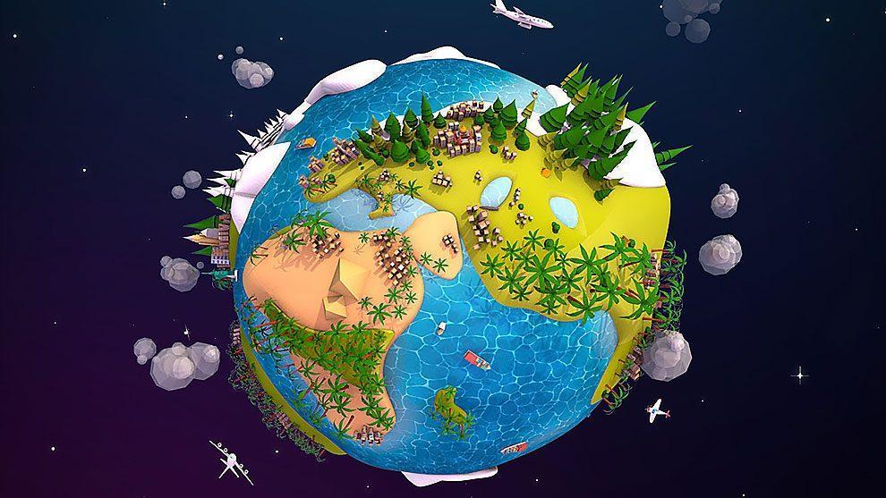 چگونه زندگی میلیارد ها سال پیش شکل گرفت؟ ، بازگشت زمین به کره ای آبی