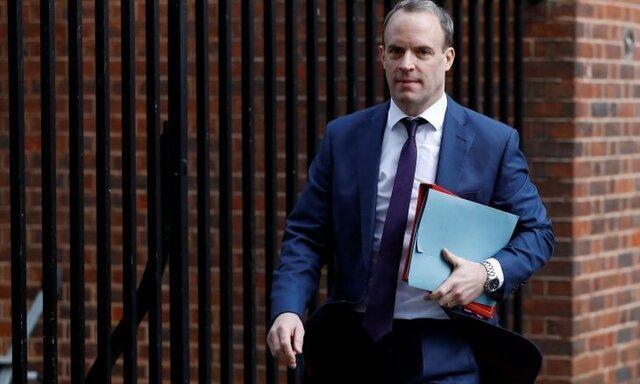 وزیر خارجه انگلیس به جای جانسون مسئول اداره کشور است