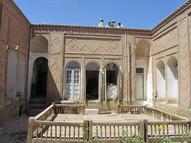 شروع فصل پنجم بازسازی خانه اعظمی کرمان
