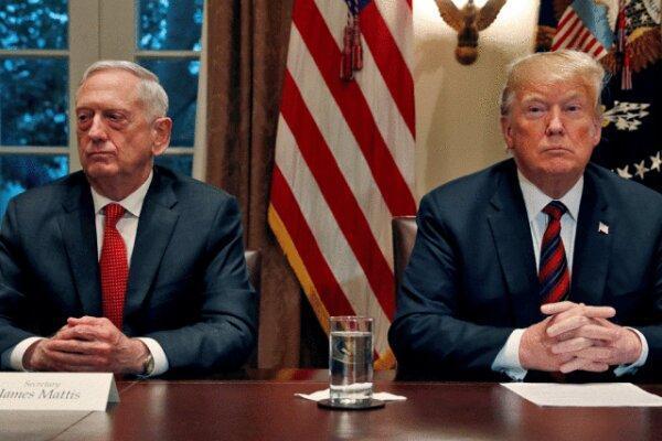 وزیر دفاع سابق آمریکا: ترامپ برای قانون اساسی آمریکا تهدید است