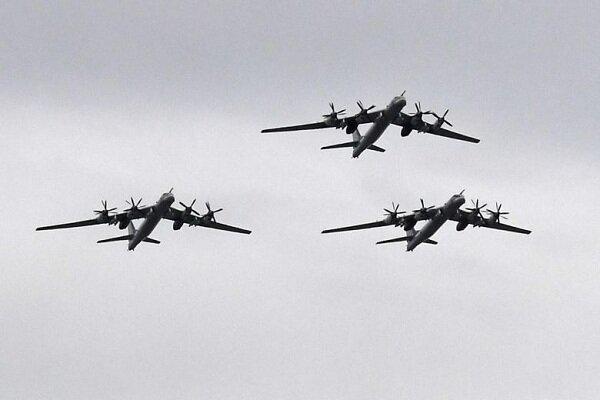 آمریکا 4 بمب افکن اتمی روسیه را رهگیری کرد