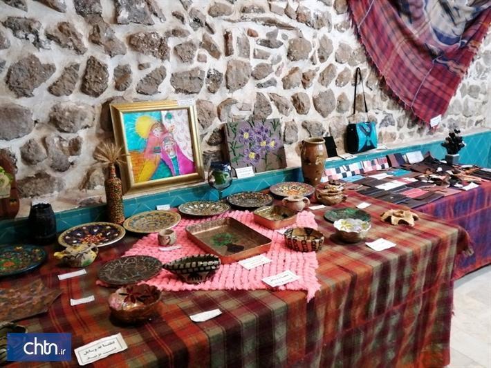 برگزاری نمایشگاه صنایع دستی در مهاباد