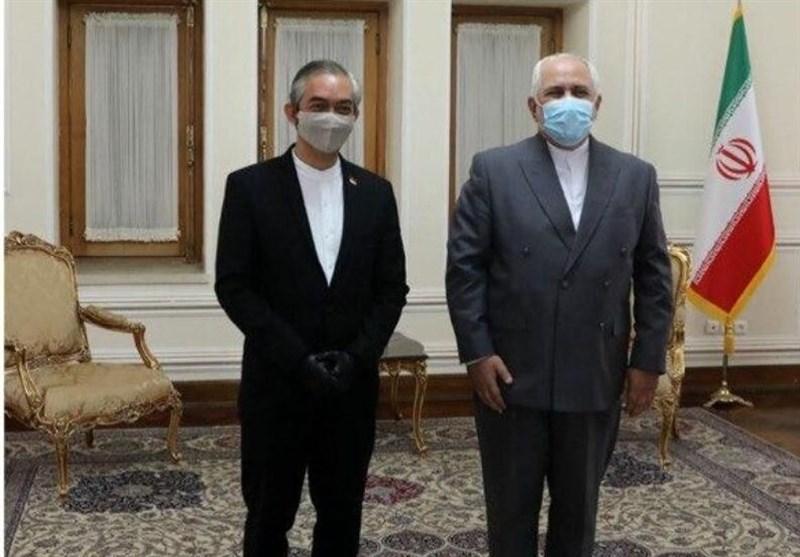 سفیر اندونزی با ظریف دیدار کرد