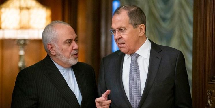 گفت وگوی ظریف و لاوروف در مسکو
