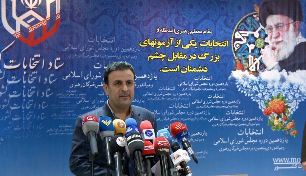 خبرنگاران سخنگوی ستاد انتخابات: رای گیری در پنج حوزه انتخابیه تمدید شد