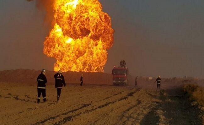 انفجار در دو چاه نفت کرکوک توسط داعش