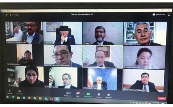 پیشنهاد سفیر ایران در قزاقستان به نامگذاری خیابانی به نام حافظ و آبای در دو کشور