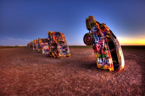 سفر به آمریکا: زباله هایی که به اثر هنری تبدیل شدند