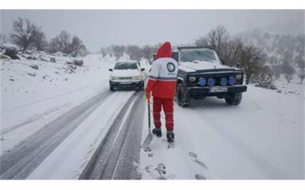 امدادرسانی به 5380 نفر در 17 استان متاثر از برف و کولاک