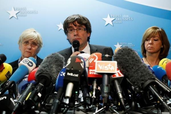 مجلس اروپا مصونیت رهبران جدایی طلب کاتالونیا را لغو کرد