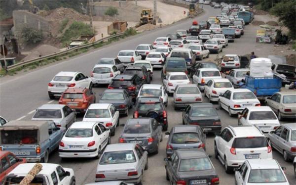 افزایش 16 درصدی تردد وسایل نقلیه در محورهای برون شهری