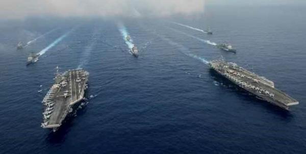 ناو هواپیمابر آمریکا وارد آب های دریای چین جنوبی شد