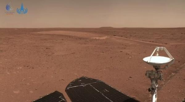 چین 5 عکس تازه از مریخ منتشر کرد