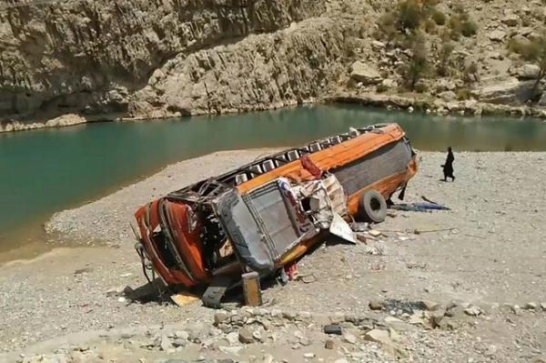 وقوع سانحه رانندگی مرگبار در جنوب غرب پاکستان