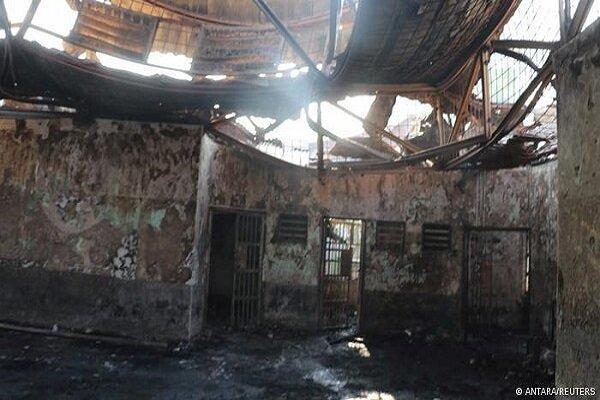 آتش سوزی در یک زندان در اندونزی، 41 نفر کشته و 72 تَن زخمی شدند