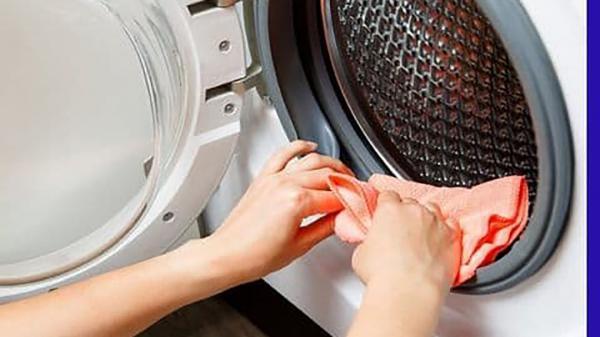 نحوه تمیز کردن لاستیک در ماشین لباسشویی